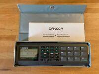 BOSS DR-220A Dr. Rhythm Vintage Drum Machine