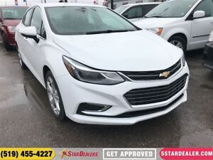 2017 Chevrolet Cruze Premier Auto | LEATHER | CAM | ONE OWNER
