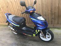 Suzuki ay50 katana sport 50cc scooter moped 12 months mot