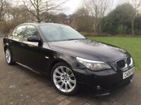 2008 BMW 520D M sport LCI FACE LIFT MODEL Manual 6 Gears Cheap road tax only £11 a month