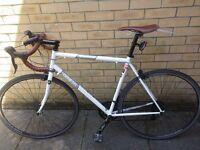 Genesis Equilibrium 00 White Road Bike - Large