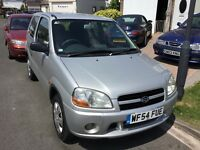 Suzuki ignis 1.3 gl 2004 facelift model 3 door hatch 12 months mot one previous owner