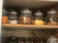Old storage jars