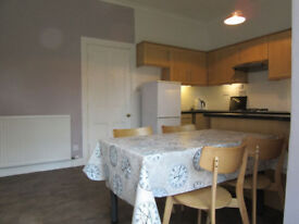 Central location. Large 2 bed flat with lounge & dining kitchen. Double glazed. Central heating.