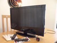 Technika 32 inch LCD Television with 2 remote controls