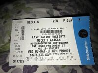 2 x Micky Flannigan Tickets at Notthinghsm
