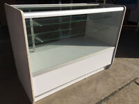 Glass shop display cabinet shop fittings shop fixings