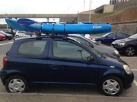 Calypso Islander Sea Kayak: 1 person, with paddle, trolley and life jacket