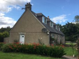 3 Bedroom Country Cottage with a large garden for rent in Udny area.