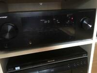 Pioneer VSX-421 Audio/Video Multi-Channel Receiver with Remote