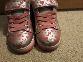 Girls Heelys size 11