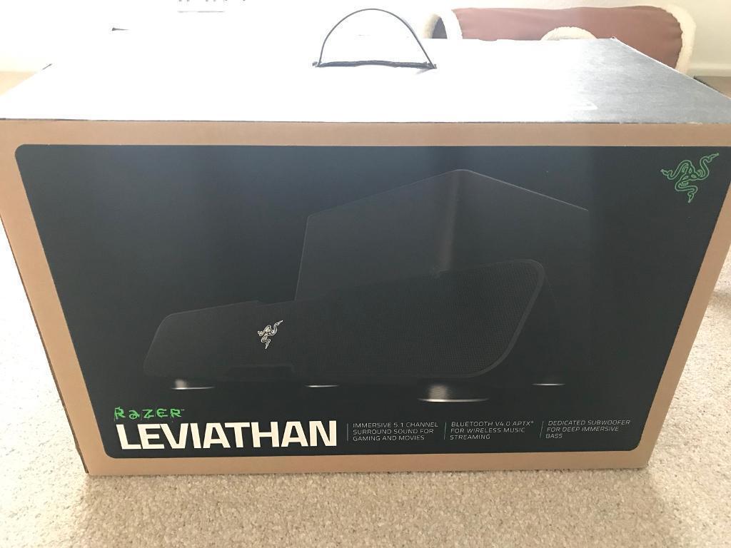 Razer Leviathan 51 Soundbar And Subwoofer In Poole Dorset Gumtree Wireless Speaker