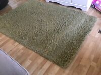 Next sage green rug size 135 x 190