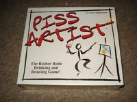 piss artist board game