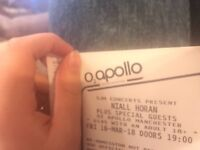 Niall Horan Standing Tickets Manchester March 16th 2018
