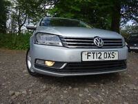 012 VOLKSWAGEN PASSAT S BLUEMOTION TECH TDI DIESEL ESTATE,MOT MAY 018,FULL HISTORY,2 OWNERS 2 KEYS