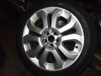 """MG ZT ROVER 75 17"""" SPORT MOMO STYLE ALLOY WHEELS AND TYRES + VAUXHALL FIAT VW OTHER 5 X 100 CARS"""