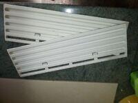 Caravan/motorhome fridge vent covers