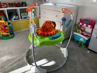 Roaring Rainforest Jumperoo - excellent condition
