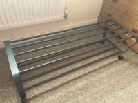 Ikea Stylish metal shoe rack