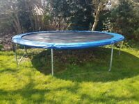 14 ft Trampoline - Used but in good condition