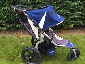 Bob Revolution pushchair used in great condition. Approved running stroller