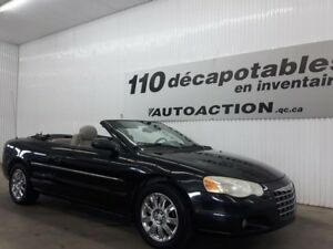 2005 Chrysler Sebring  Limited DÉCAPOTABLE