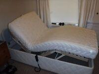 ORTHPEDIC SINGLE MEMORY FOAM ELECTRIC BED