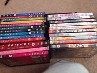 Big collection of DVDs - used once or twice