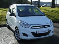 £0 DEPOSIT FINANCE (12)Hyundai i10 1.2 Classic 5dr **6 MONTH AA WARRANTY**£20 TAX** ONLY 27000 MILES