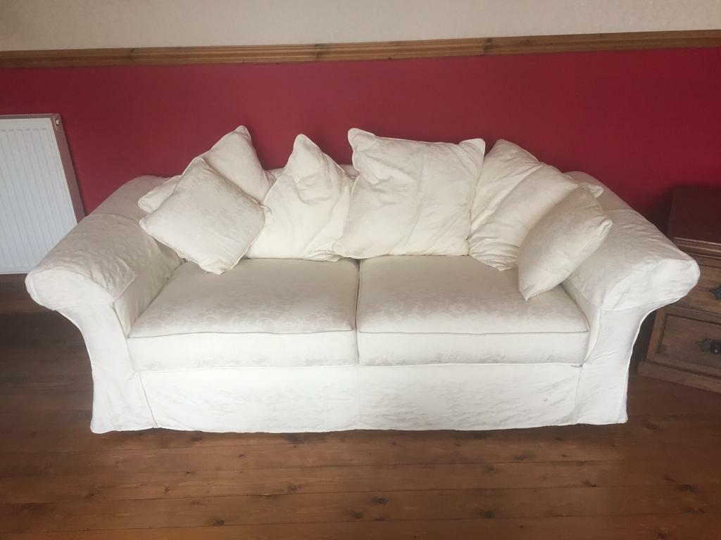 Cool White 2 Seater Sofa Large 2 Seater In Ayr South Ayrshire Gumtree Pdpeps Interior Chair Design Pdpepsorg