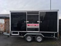Events Catering Exhibition Box Drinks Bar Mobile Trailer 3.6m