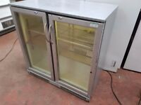 DOUBLE DOOR UNDER/ OVER COUNTER BAR FRIDGE