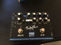 EBS microbass 2 Bass preamp/2 channel pracice amp