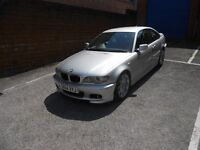 2004 BMW 320d COUPE SPORT, AUTOMATIC , SAT NAV , BLACK LEATHER,GREAT SPEC AND CONDITION