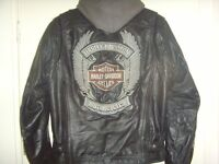 HARLEY- DAVIDSON LEATHER MOTORCYCLE JACKET