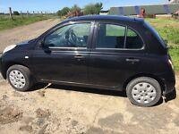 Nissan Micra Car 5door Black