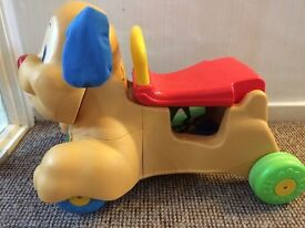 Fisher Price ride-on and walker