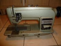 TOYOTA TWIN NEEDLE, NEEDLE FEED FOOT MACHINE for upholstery etc