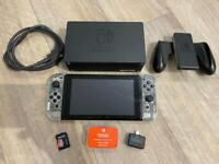 Nintendo switch -12.0 atmosphere 19.1 C F W - R C M Loader - with 256gb SD - Games