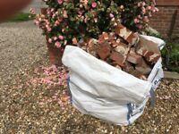 Brick rubble fills large bag FREE