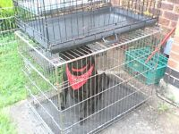Dog cage 3ft medium/large more than one available