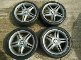 Seat Leon FR alloy wheels alloys Golf Octavia Bora Toledo 5x110