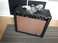 Stagg 20-Watt Spring Reverb Acoustic Amplifier
