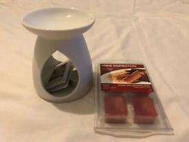 Yankee Wax Burner with Melts