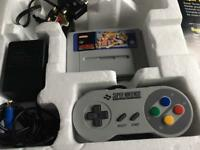 Snes street fighter 2 turbo edition complete with games