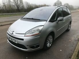 AUTOMATIC,1.6 Diesel,2008 Citroen C4, Starts &Runs, 7seater, MOT-till Dec, No offers, Spares/repairs