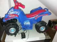 Child's quad bike