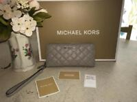 Authentic Michael Kors large purse/ wallet **RARE QUILTED LEATHER**