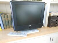 Goodmans 15 inch freeview digital TV with remote